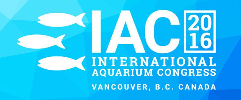 Visit us at the 2016 International Aquarium Conference